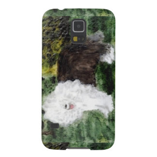 Old English Sheepdog Painting Galaxy S5 Cover