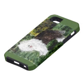 Old English Sheepdog Painting iPhone SE/5/5s Case
