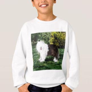 Old English Sheepdog Painting Sweatshirt