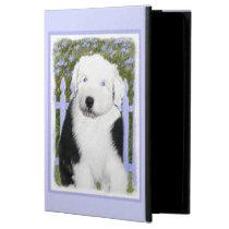 Old English Sheepdog Puppy Painting - Dog Art Powis iPad Air 2 Case