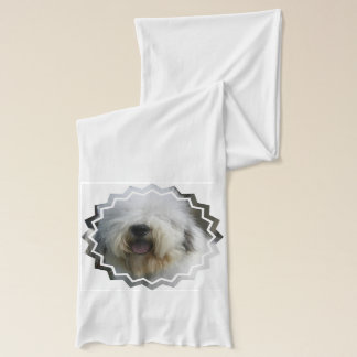 Old English Sheepdog Scarf