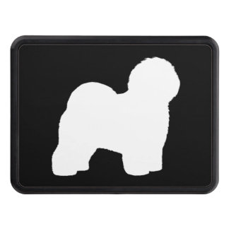 Old English Sheepdog Silhouette Trailer Hitch Cover