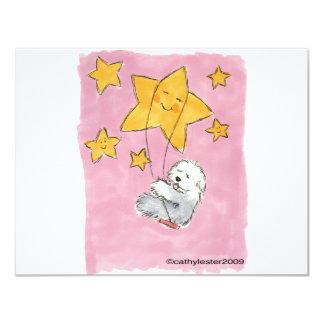 Old English Sheepdog Star Card
