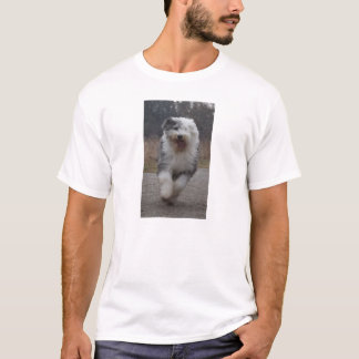 Old English Sheepdog Tee - Run Dog!