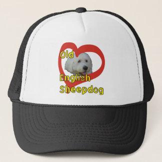 Old English Sheepdog Trucker Hat