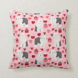 Old English Sheepdog Valentines Love pillow