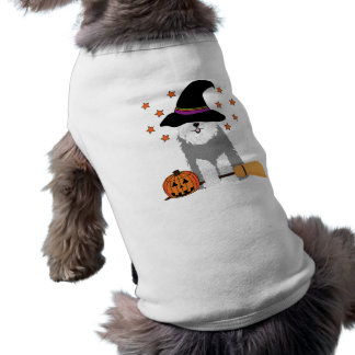 Old English Sheepdog Witch T-Shirt