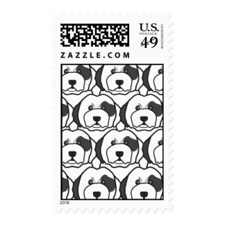Old English Sheepdogs Stamp