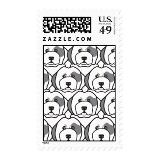 Old English Sheepdogs Stamps