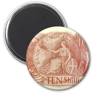 Old English Ten Shilling Note Magnet