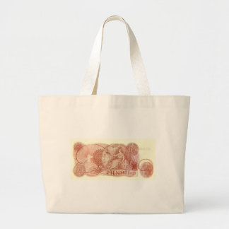 Old English Ten Shilling Note Tote Bag