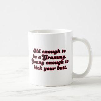 Old Enough Grammy Coffee Mug
