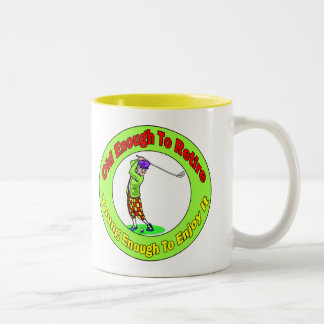 Old Enough To Retire (2) Mugs