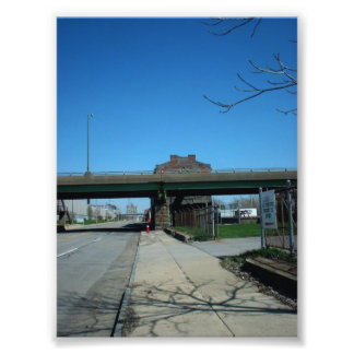 Old Erie Freight House in Buffalo New York Photo Print