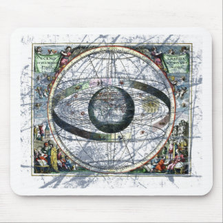 Old estelar map mouse pad