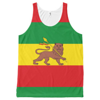 Old Ethiopian flag All-Over-Print Tank Top