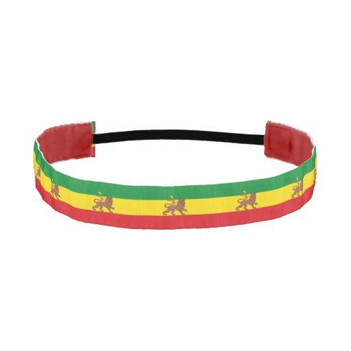 Old Ethiopian flag Athletic Headband