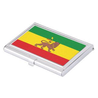 Old Ethiopian flag Business Card Holder