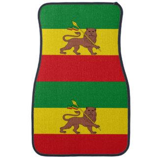 Old Ethiopian flag Car Floor Mat