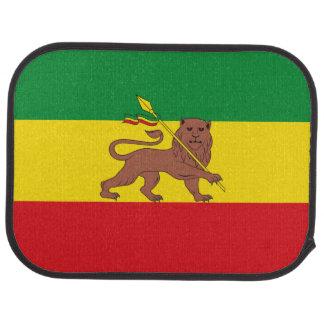 Old Ethiopian flag Car Mat
