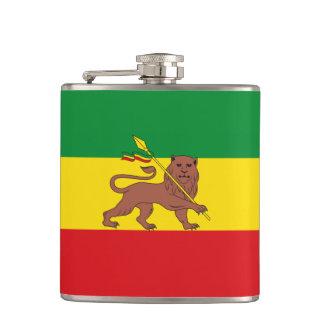 Old Ethiopian flag Flask
