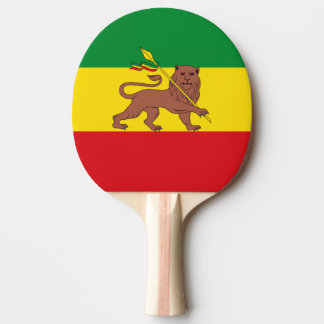 Old Ethiopian flag Ping-Pong Paddle