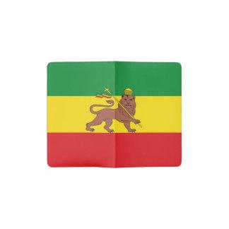 Old Ethiopian flag Pocket Moleskine Notebook