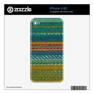 Old Fabric iPhone 4S Decal