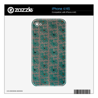 Old Fabric iPhone 4S Decals