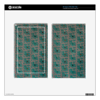 Old Fabric Kindle Fire Skins