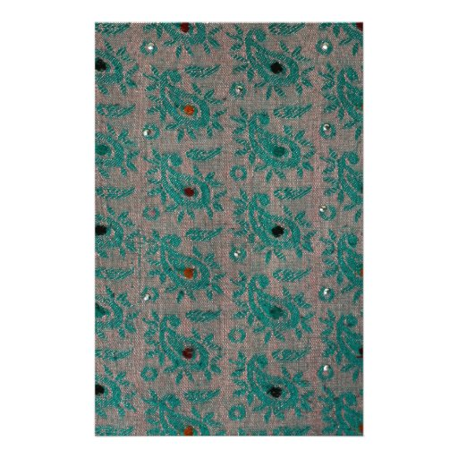 Old Fabric Stationery Paper
