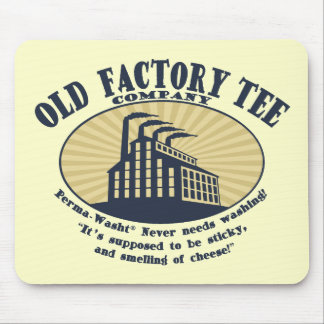 Old Factory Tee Co. Mouse Pad