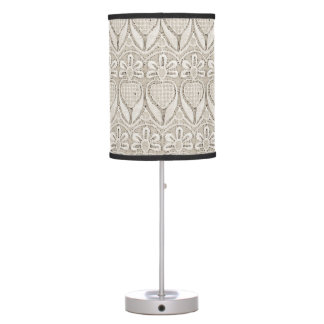 Old Fahioned lace Desk Lamp