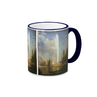 Old Faithful Albert Bierstadt Mugs
