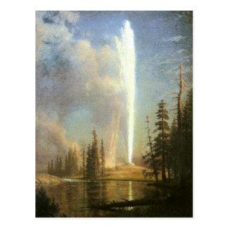 Old Faithful, Albert Bierstadt Postcards