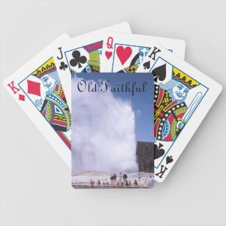 Old Faithful Bicycle Playing Cards