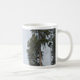 Old Faithful Geyser in Yellowstone Park Coffee Mug