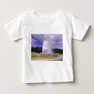 Old Faithful in Yellowstone National Park Baby T-Shirt