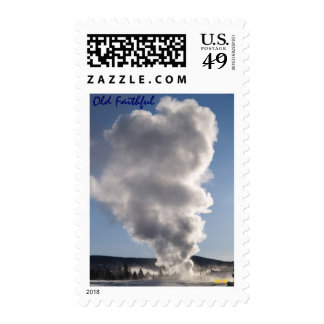 Old Faithful Stamp