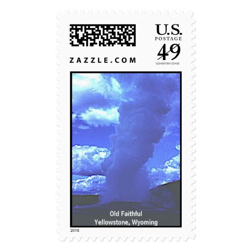 Old Faithful Postage Stamps