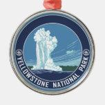 Old Faithful - Yellowstone National Park Souvenir Christmas Tree Ornaments