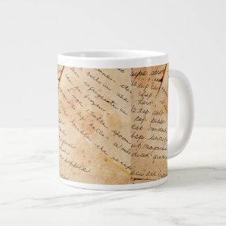 Old Family Recipes Giant Coffee Mug