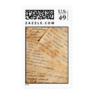 Old Family Recipes Postage