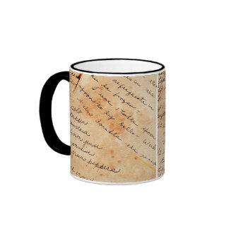 old family recipes ringer mug