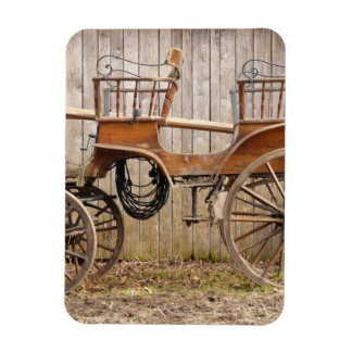 Old Fancy Horse Coach Buggy Magnets