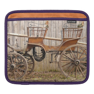 Old Fancy Horse Coach Buggy Sleeves For iPads