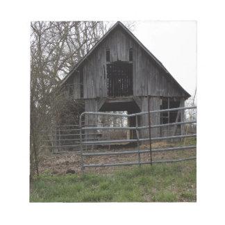 Old Farm Barn Notepad