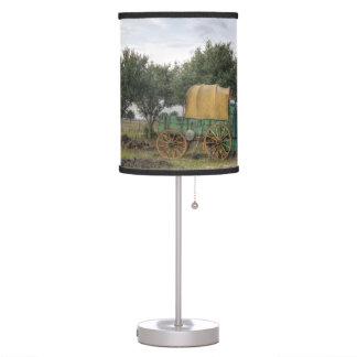 Old Farm Chariot Desk Lamp