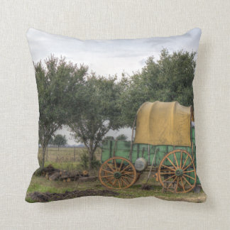 Old Farm Chariot Pillow