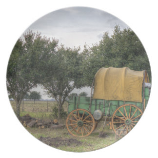 Old Farm Chariot Dinner Plate